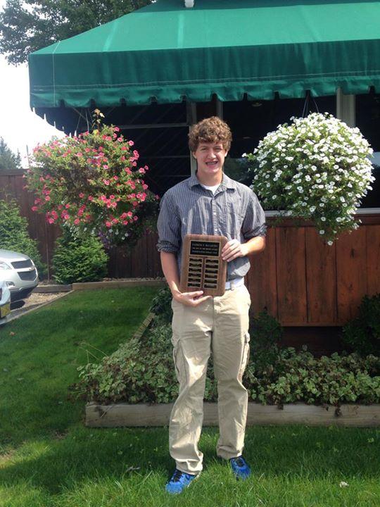 Congratulations to Kameron Rummel Aug. Boy of the Month!