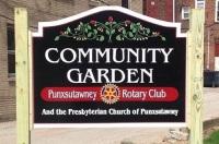 Punxsutawney Rotary: Community Garden