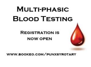 Multiphasic Blood Testing